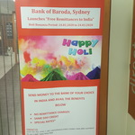 [NSW] Zero Remittance Charges (Normally $4-$8) for Money Transfer to India @ Bank of Baroda, Sydney