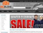 10% off All Big Mens Clothing - BigBlokeBasics.com.au