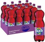 Fanta Grape Soft Drink, 12x 1.25L $13.50 S&S + Delivery ($0 with Prime/ $39 Spend) @ Amazon AU