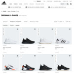 40% off adidas Originals Footwear @ adidas Online