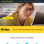 $10 Coles E-Voucher + $0 Fee on First Transfer @ Western Union