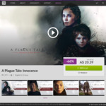 [PC] DRM-free - A Plague Tale: Innocence $20.39/The Surge 1+2 $24.19/The Council $10.49 - GOG