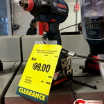 [WA] Bosch Professional Cordless Impact Driver GDX18-VEC (Skin Only) $99 (RRP $158) @ Bunnings Claremont
