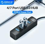 ORICO 4 Port USB 3.0 Hub with USB Type-C Power US$4.39 (~A$6.06) Delivered @ Orico Official Store AliExpress