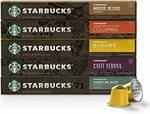 Starbucks Nespresso 10 Pods (Min Qty 3) $4.80 ($4.32 S&S) + Delivery ($0 with Prime/ $39 Spend) @ Amazon AU