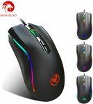 Hongsund 7200DPI Gaming Mouse RGB US$15.10 (~A$21.60) Delivered @ China ElectronicsHS Store via AliExpress