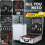 [eBay Plus] 786pcs Toolbox Set $110.46 Delivered @ Ozplaza Living eBay