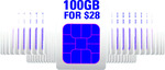 Click Frenzy Offer: Circles.Life SIM Only Plans - 100GB for $28/Mth for First 12 Months, 8GB for $8/Mth for First 6 Months