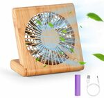 20% off USB Rechargeable Desk Fan Portable Mini Fan $15.19 (Was $18.99) + Delivery ($0 with Prime/ $39 Spend) @ Seyarlh Amazon