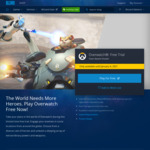 [PC] Overwatch - Free to Play Period (until 4 January 2021) - Battle Net