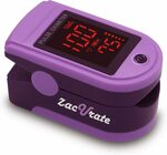 Zacurate Pro Series 500DL Fingertip Pulse Oximeter Blood Oxygen $22.09 + Delivery (Free with Prime) @ Beyond Med via Amazon AU