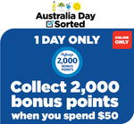 2000 Bonus flybuys Points (Worth $10) with $50 Online Spend @ Liquorland
