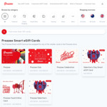 Prezzee Bonus: Valentine's eGift Card Buy $150 Get $10 [OOS] | H&M Buy $100 Get $10 | Doordash Buy $50 Get $10 @ Prezzee