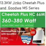 [QLD] 13.3kW New Jinko MONO 370W (36 Panels of 370W) and Goodwe 10kW Inverter Fully Installed for $5989 @ Reliance Solar