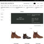 R.M. Williams Men's Boots, Polish & Conditioner 25% off + Delivery ($0 C&C/ $50 Spend) @ David Jones