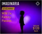 Win 2x Family Passes to IMAGINARIA Valued $120 Each from Free Kids Events
