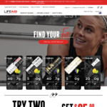 2 FITAID Energy Drinks (Can or Powder) for $3.99 Delivered @ Lifeaid