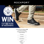 Win 1 of 50 Pairs of Shoes Worth $249.95 Each from Rockport