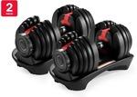 Fortis 24kg Smart Adjustable Dumbbells 2 Pack $199 ($189 for First Member) Delivered @ Kogan