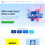 $150 Credit (with $1200+ Purchase) at 9 Selected Stores (JB Hi-Fi, The Good Guys, Samsung + More) with Gem Visa Card @ Latitude