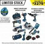 Bosch Professional 18V Brushless 10 Piece Kit (+ $450 Bosch Bucks) $1999 @ Total Tools
