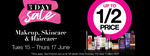 ½ Price Make-up (Includes NYX, Maybelline, Rimmel, Revlon, Nude by Nature, L'Oreal, Some Brand Exclusions) @ Priceline