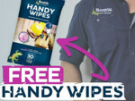Bostik Free Handy Wipes for Signing up to Mailing List