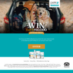 Win 1 of 3 $10,000 Pet Friendly Holidays with Purchase of any PAW by Blackmores products