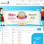 70% off Web Hosting for New Customer, 50% off for Existing Customer Upgrade @ VentraIP