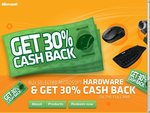 Microsoft Hardware 30% Cash-Back on RRP