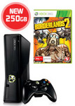 250GB Xbox 360 Console + Borderlands 2 $299 at EB Games
