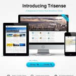 Trisense Wordpress Theme 50% off This Month Only $20 - Last Day of Sale!