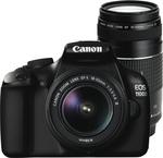 Canon 1100DTKB 1100D Twin Lens Kit (18-55 & 75-300mm) $487 @ TGG