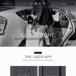Uber: Another FREE $40 Credit for a Taxi Ride Using Promo Code + Link for New Users