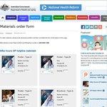 FREE Australian Government Info Material: HealthDirect After Hours GP Helpline - 1800 022 222