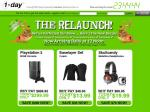 1-Day Relaunch: Playstation 3 80GB $399.99, Baselayer Set $13.99, Skullcandy Headphones $19.99