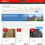 Hotels.com 10% off Coupon