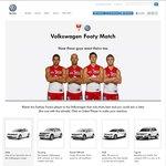 Win a Volkswagen Jetta 118TSI - Volkswagen/Sydney Swans Footy Match Competition