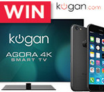 Win a 4K TV AND an iPhone 6 (16GB) @ Kogan