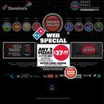 Domino's - Pizza $6.95ea Pickup - Chefs/Trad/Exvalue