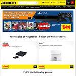 $599 JB-Hi-Fi PS4 Bundle w/5 Games - The Last of Us, Little Big Planet 3, Driveclub, FIFA 15 & NBA 2K15
