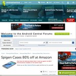80% off Spigen Cases: Galaxy Note 4, Galaxy S4\S5, HTC One M9, Apple 6 & More from US $3.50 +Ship @ Amazon