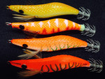 Buy 3 Get 1 Free: 4x Egi-Cast Squid Jigs $33.97 Delivered @ Egicast