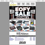 DJ City 2015 EOFY Sale - Mostly MIDI Controllers, Some Less than Half Price