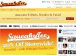 20% off at SqueakyTee.com.au + $10 Reward Bonus for Registering