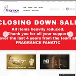 Perfume Closing Down Sale - All Items Marked down with up to 50% off @ Fragrance Fanatic