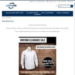 Uniform Clearance - 100x Long Sleeve Polo Shirts for $400 or $500 Inc Embroidery @ Lightline
