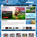 10% off Sitewide @ FullyRetro (Games and Consoles)