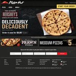 3 Pizzas + 3 Sides for $33 Delivered @ Pizza Hut