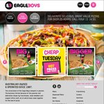 Eagle Boys Pizza - Deal of The Day - Large Pizzas for $3.95 (Code)